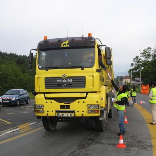 Questionnaire de circulation camion
