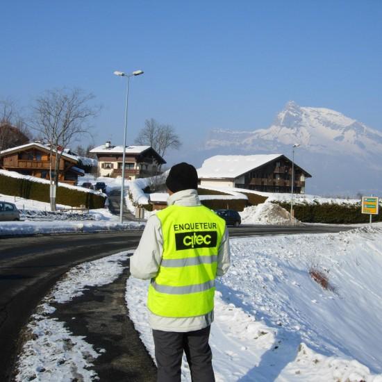 Enquête de trafic Jeux Olympiques